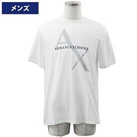 アルマーニエクスチェンジ メンズ半袖Tシャツ カジュアルTシャツ 丸首 Armani Exchange 8NZT76 Z8H4Z 1100//8NZT76-Z8H4Z-1100【新品】【ブランド】