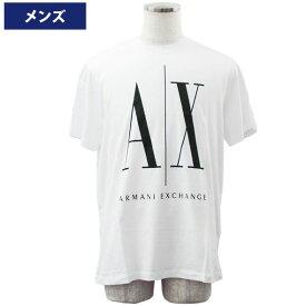 アルマーニエクスチェンジ メンズ半袖Tシャツ カジュアルTシャツ 丸首 Armani Exchange 8NZTPA ZJH4Z 5100//8NZTPA-ZJH4Z-5100【新品】【ブランド】