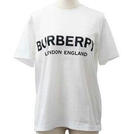 バーバリー Tシャツ レディース 半袖 ロゴプリント 綿100% カジュアル スポーツ BURBERRY 8008894 WHITE//8008894【ブランド】
