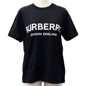バーバリー Tシャツ レディース 半袖 ロゴプリント 綿100% カジュアル スポーツ BURBERRY 8011651 BLACK//8011651【ブランド】
