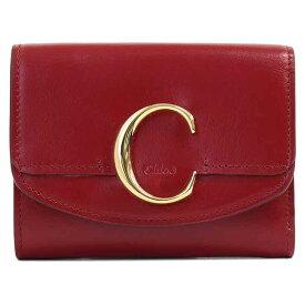 クロエ Chloe 三つ折り財布 CHLOE C クロエシー CHC19WP088A37616【ブランド】