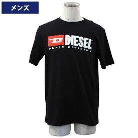 ディーゼル メンズ半袖Tシャツ カジュアルTシャツ 丸首 T-JUST-DIVISION MAGLIETTA DIESEL 00SH0I-0CATJ-900【新品】【ブランド】