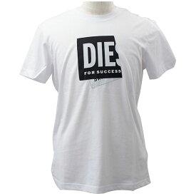 ディーゼル DIESEL メンズ半袖Tシャツ 丸首 ウェア アパレル T-DIEGOS-LAB 2021年春夏新作 A02378 0HAYU 100//A02378-0HAYU-100【新品】【ブランド】