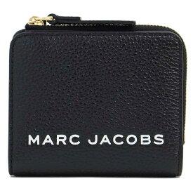 マークジェイコブス MARC JACOBS 二つ折り財布 2つ折り財布 コンパクト財布 ザ ボールド ミニ コンパクト ジップ ウォレット レディース M0017140 001//M0017140-001【新品】【ブランド】