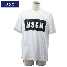 MSGM エムエスジーエム メンズ半袖Tシャツ ウェア アパレル 2019年春夏新作 2640MM67 195298 01//2640MM67-01【新品】