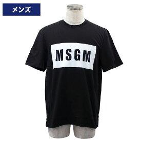 MSGM エムエスジーエム メンズ半袖Tシャツ ウェア アパレル 2019年春夏新作 2640MM67 195298 99//2640MM67-99【新品】