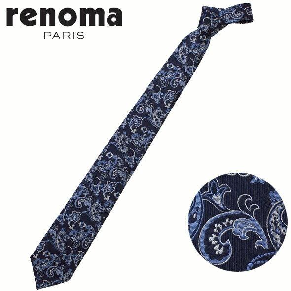 レノマ renoma ネクタイ レギュラータイ シルク ペイズリー RE17S11A//RE17S11A-HC【新品】