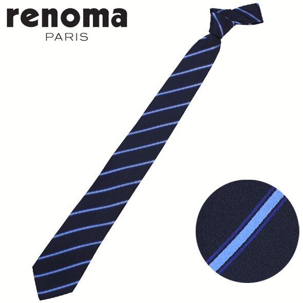 レノマ renoma ネクタイ レギュラータイ シルク ストライプ RE17S8A//RE17S8A-HC【新品】