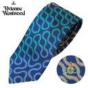 ヴィヴィアンウエストウッド Vivienne Westwood ネクタイ レギュラータイ オールオーバー ワンポイント ロゴ T85 FN01 0002//T85-FN01-0002-HC【新品・正規