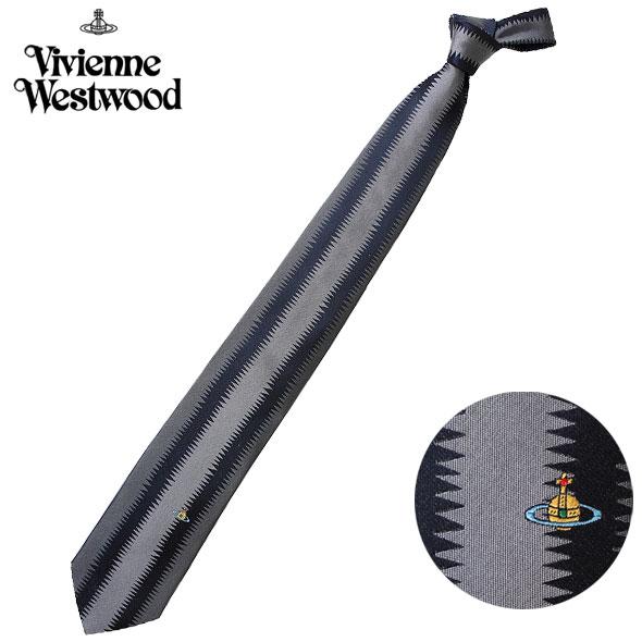 ヴィヴィアンウエストウッド Vivienne Westwood ネクタイ レギュラータイ ワンポイント ロゴ シルク ビビアンウエストウッド T85 FN42 0006//T85-FN42-0006-HC【新品】