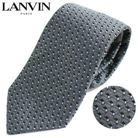 ランバン LANVIN ネクタイ レギュラータイ ドット 3040/5//3040-5-HC【新品】