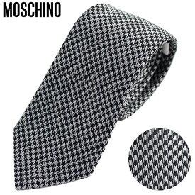 モスキーノ Moschino ネクタイ 千鳥格子 ART 55001 DIS M5373 VAR 3//55001-M5373-3-HC