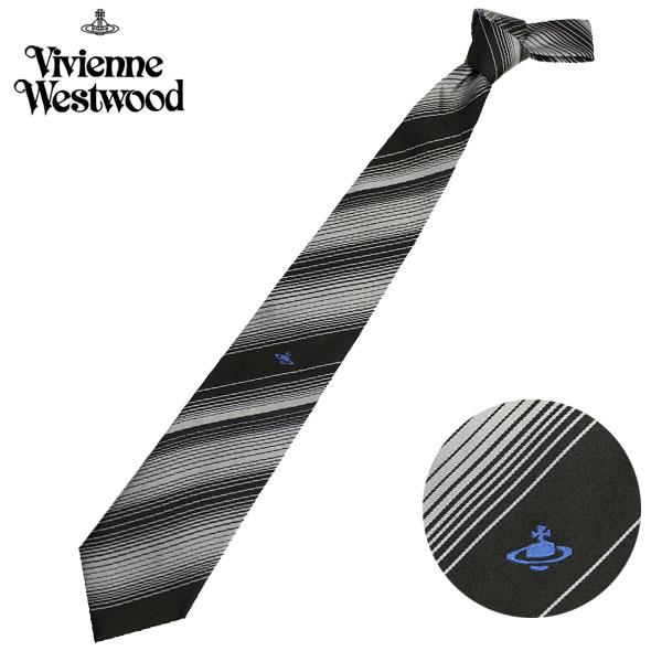 ヴィヴィアンウエストウッド Vivienne Westwood ネクタイ レギュラータイ ストライプ ビビアンウエストウッド T85 F890 0006//T85-F890-0006【新品】