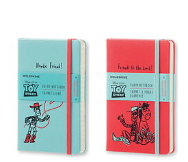 モレスキン 限定版 トイ・ストーリーノートブック ポケットサイズ