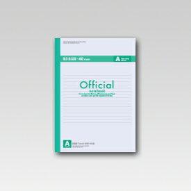 アピカ オフィシャルノート セミB5 40枚