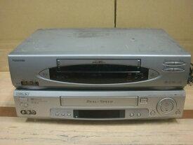 【中古】メーカー不問!格安・希少VHSビデオデッキ!本体のみです!付属品はありません。再生専用!