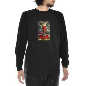 【アートTシャツ】モネ Tシャツ クロード・モネ ラ・ジャポネーズ Life is ART ライフ イズ アート 長袖 ロングスリーブ ロンT メンズ レディース 大きいサイズ ビック ブラック 黒 おしゃれ アート 絵画 名画 ティーシャツ S M L xxl ブランド