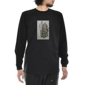 【11%OFFセール】【アートTシャツ】ゴッホ Tシャツ MAN AND WOMAN SEEN FROM THE BACK フィンセント・ファン・ゴッホ Life is ART ライフ イズ アート 長袖 ロングスリーブ ロンT メンズ レディース 大きいサイズ ビック 絵画 名画 ティーシャツ ブラック 黒 ブランド_激安