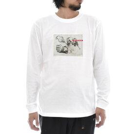 【アートTシャツ】ゴッホ Tシャツ Three Hands, Two Holding Forks フィンセント・ファン・ゴッホ Life is ART ライフ イズ アート 長袖 ロングスリーブ ロンT メンズ レディース 大きいサイズ ビック おしゃれ 絵画 名画 ティーシャツ S M L XL XXL ホワイト 白 ブランド