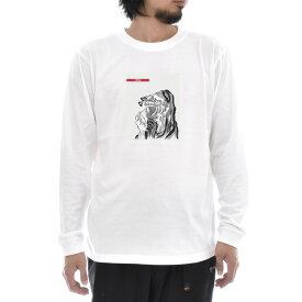 【アートTシャツ】葛飾北斎 Tシャツ DARUMA だるま ダルマ 達磨 浮世絵 Life is ART ライフ イズ アート 長袖 ロングスリーブ ロンT メンズ レディース 大きいサイズ ビック おしゃれ 絵画 名画 ティーシャツ S M L XL XXL ホワイト 白 ブランド