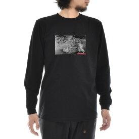 【アートTシャツ】サンドロ・ボッティチェッリ Tシャツ ヴィーナスの誕生 ビーナス モノクロ Life is ART ライフ イズ アート 長袖 ロングスリーブ ロンT メンズ レディース 大きいサイズ ビック おしゃれ 絵画 名画 ティーシャツ S M L XL XXL ブラック 黒 ブランド