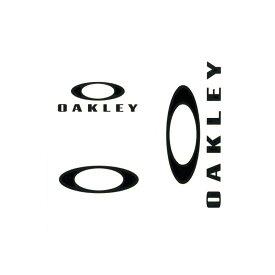 オークリー OAKLEY ステッカー ステッカーパック スモール 3枚セット ファンデーションロゴ カッティングステッカー ダイカット シール デカール アウトドア 車 バイク ステッカーチューン くり抜き ブラック 黒 AOO0002ET