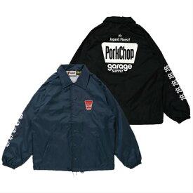 PORKCHOP GARAGE SUPPLY コーチジャケット FINEST COACH JKT 2カラー