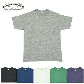 WAREHOUSE【ウエアハウス】Tシャツ Lot4601 ポケット Tシャツ 【6カラー】