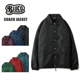 BLUCO【ブルコ】 OL-041-017 COACH JACKET コーチジャケット