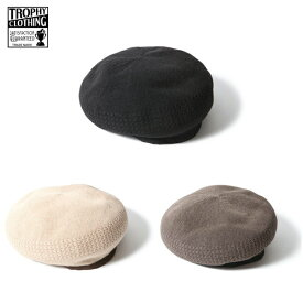 TROPHY CLOTHING 【トロフィークロージング】 RUSSEL BASQUE ベレー帽