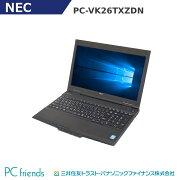NECPC-VK26TXZDN(Corei5/RAM4GB/HDD500GB/A4サイズ)Windows10Pro(MAR)搭載中古ノートパソコン【Bランク】