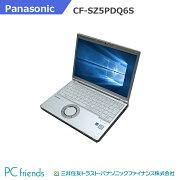 Panasonic【おすすめバナー掲載品】LetsnoteCF-SZ5PDQ6S(Corei5/RAM8GB/HDD256GB(SSD)/無線LAN/B5モバイル)Windows10Pro搭載中古ノートパソコン【Bランク】
