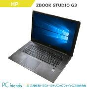 HPZBOOKSTUDIOG3(Xeon/RAM16GB/HDD512GB(SSD)/無線LAN/A4サイズ)Windows10Pro(MAR)搭載中古ノートパソコン【Bランク】