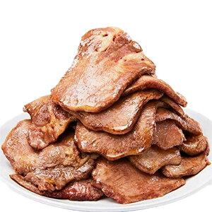 仔牛の牛タン 厚切りスライス お徳用1kg / 牛たん ステーキ 焼肉 焼き肉 タンシチュー 牛タン