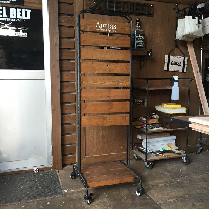 STEEL BELT オリジナル スタンドサイン ウエスタンレッドシダー ウッド アイアン 無垢材 木 鉄 アンティーク ウエスタン モダン ビンテージ 店舗 店舗雑貨 おしゃれ雑貨 男前 看板 スタンド看板 お好きな文字入れます W450×H1350