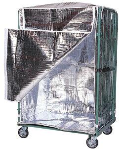 【オプション】カゴ台車 保冷カバー (標準型) PCL-1080-17用 幅100×奥行80×全高170cm【※送料有料】