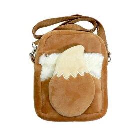 イーブイ リュック ポケットモンスター ポケモン ポーチ ぬいぐるみポシェット グッズ 収納袋 ショルダーバッグ バッグ いーぶい