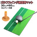 ゴルフ マット スイング 練習用 素振り 練習マット ゴルフ用品 ティー セット パター 極厚 ダフり ドライバー アイア…