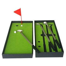 ゴルフ ボールペン 景品 コンペ ゴルフグッズ 面白い 黒 赤 青 三色 セット ミニゴルフ 可愛い ドライバー アイアン パター 小物 ペンケース