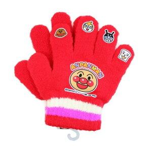 アンパンマン 子供用 キャラクター 手袋 レッド ばいきんまん 冬 もこもこ なりきり ニット 防寒 プレゼント 可愛い ドキンちゃん キッズ