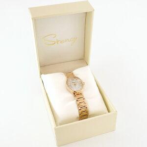 ステンレス腕時計Stencyサージカルステンレス製シェル文字盤細身の腕時計選べるカラーファッションウォッチ金属アレルギー316L誕生日結婚記念日クリスマスギフトプレゼント彼女女性妻