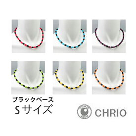 ブラックベース/Sサイズ クリオ インパルス ネックレス CHRIO Impulse Necklace スポーツネックレス