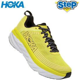あす楽 ホカ オネオネ ランニング シューズ ボンダイ 6 1019269-CATH イエロー(YELLOW) HOKA ONE ONE BONDI 6 メンズ ジョギング スニーカー 運動靴 くつ 厚底 黄色 20SS cat-run rshoka