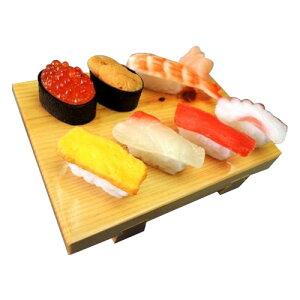 日本職人が作る 食品サンプル スマホスタンド ミニチュア寿司 IP-534 ネタ プレゼント ギフト