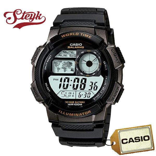 【あす楽対応】CASIO カシオ 腕時計 デジタル メンズ AE-1000W-1A