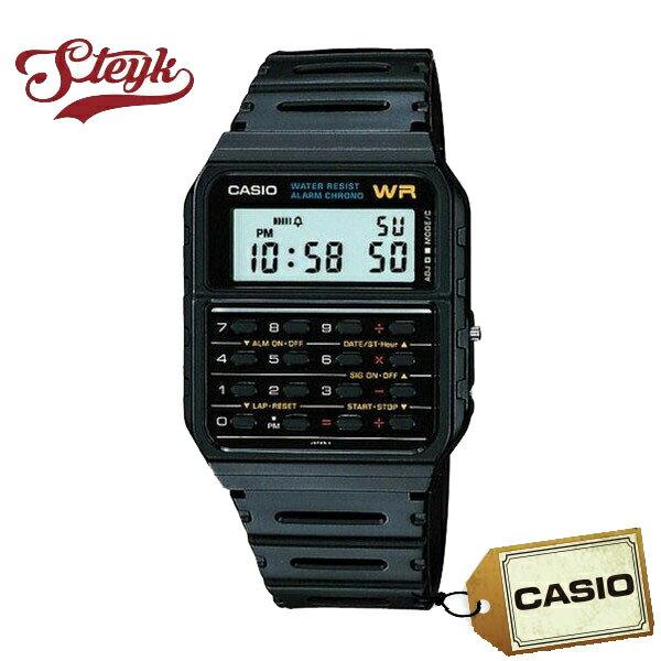 CASIO カシオ 腕時計 デジタル カリキュレーター CA-53W-1 【メール便選択で送料200円】