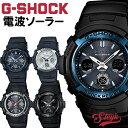 CASIO G-SHOCK Gショック 電波 ソーラー電波時計 AWG-M100 CASIO カシオ ブラック 黒 ブルー 青 白 アウトドア ビジネスカジュアル 腕時計 誕生日プレゼント 男性 ギフト