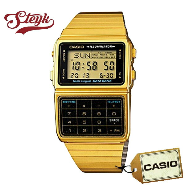CASIO カシオ 腕時計 デジタル DATA BANK データバンク DBC-611G-1 【メール便選択で送料200円】