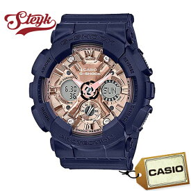 【25日23:59まで!店内ポイント最大37倍】CASIO GMAS120MF-2A2 カシオ 腕時計 アナデジ G-SHOCK S Gショック Sシリーズ メンズ ネイビー ピンクゴールド カジュアル