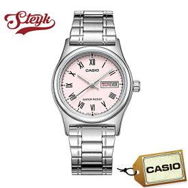 CASIO LTP-V006D-4B カシオ 腕時計 アナログ スタンダード レディース ピンク シルバー カジュアル ビジネス
